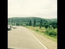 Дорога недалеко от Майкопа