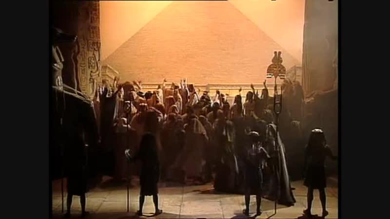 АИДА акт 2 Фанфары египетского войска