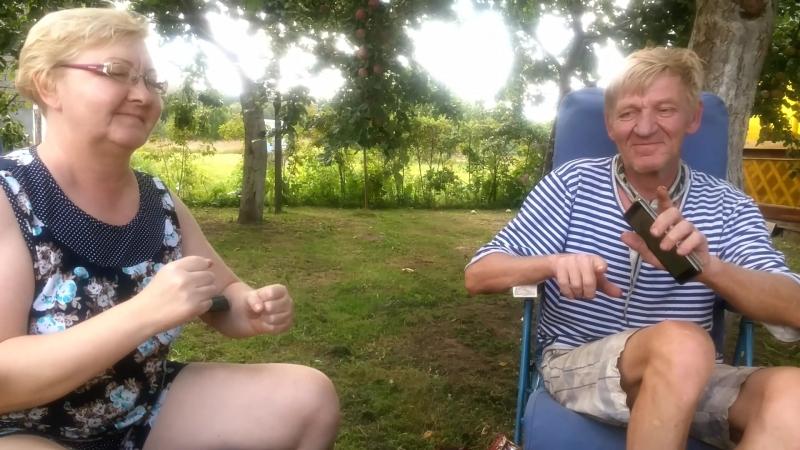 Зоя и Валера по свейски