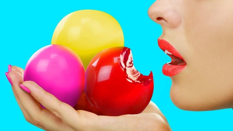 Съедобные игрушки антистресс – 7 идей / Съедобные шарики Орбиз