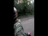Перегон. Лёха на мотоцикле