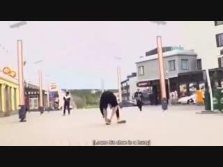 taehyung laughing so hard at jungkook losing his shoe while hurriedly running is still sup.mp4