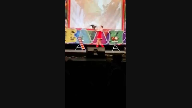 Курочка и петух в цирке