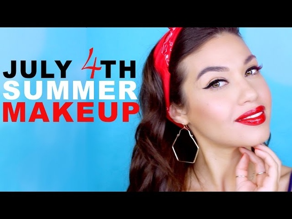 Fourth of July Summer Makeup Looks Eman