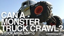 Axial SMT10 Max D Monster Jam Truck - Can it crawl ?