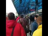 Ярославский вокзал 12 апреля