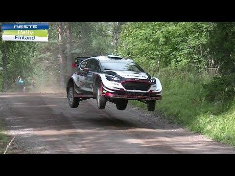 WRC Rally Finland 2017 high speed,jumps,powerdriftsshow