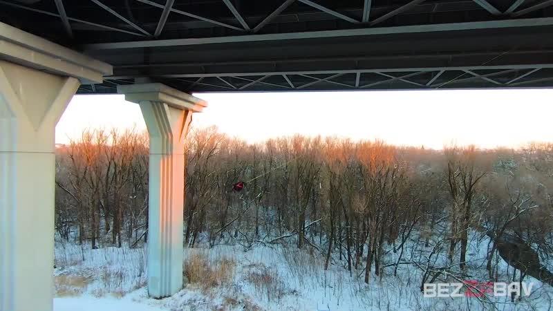 Прыжки с моста на веревке. RJ Saratov.