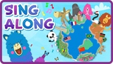 Travel Around The World Song in English Kids &amp Children Sing Along Videos Pacca Alpaca