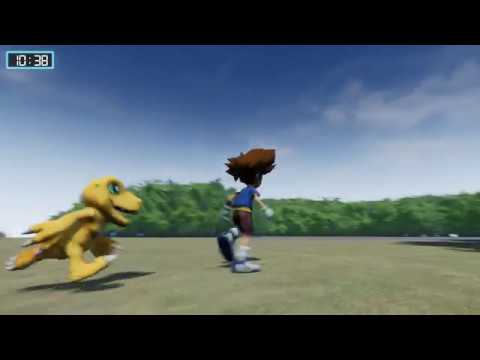 Digimon World UE4 | Agumon animation test