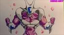 Vẽ biến hình cuối cùng của COOLER-quái vật đáng sợ-HERO ART