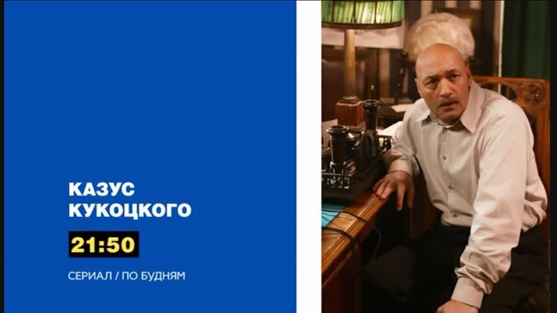 Анонс. Сериал Казус Кукоцкого. По будням в 2150