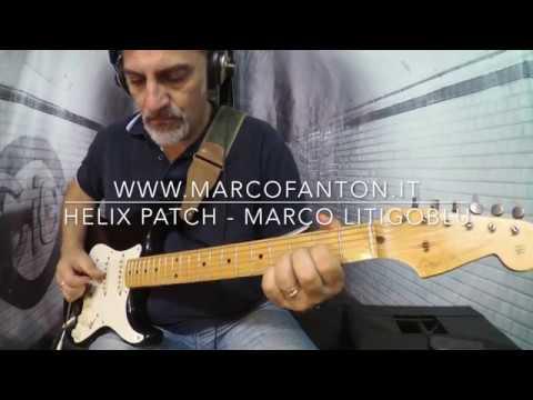 Line 6 Helix - Eric Clapton cover - Wonderful Tonight