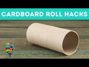 Unusual Use Of Cardboard Roll! Useful DIY Hacks With Toilet Paper Rolls! | A hacks