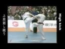 High kick (Хай кик) - маваши гери дзедан с передней ноги