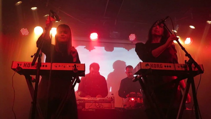 Marsheaux - To The End - live in Gothenburg 2018-01-27 at Electronic Winter in Musikens Hus