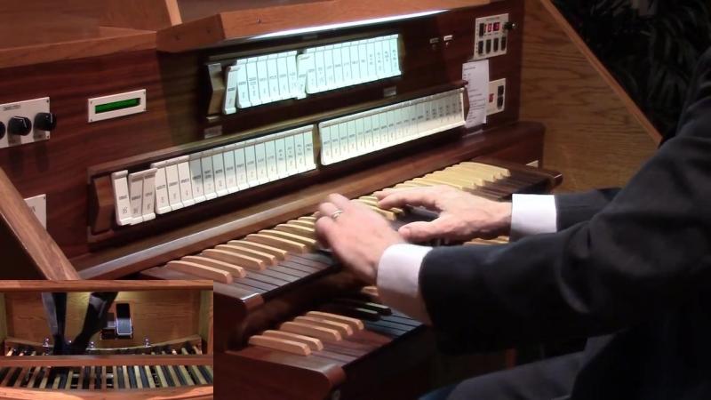 607 J. S. Bach - Vom Himmel kam der Engel Schar (Orgelbüchlein No. 9), BWV 607 - David Kriewall