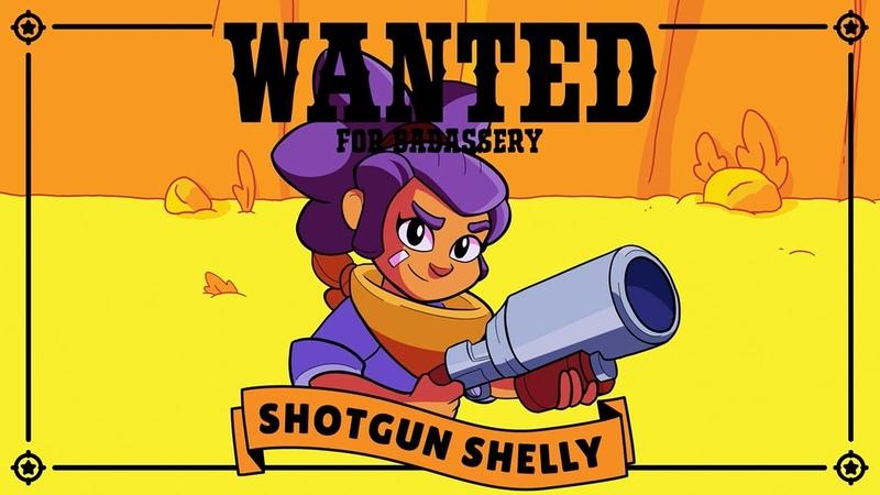 Brawl Stars Character Intro: WANTED – SHOTGUN SHELLY