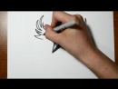 How_to_Draw_a_Nautical_Star_with_Wings_-_Tribal_Style_MosCatalogue.mp4