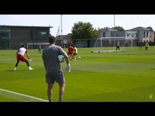 Inside Training at Melwood (Liverpool)