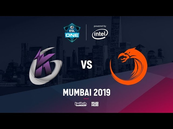 Keen Gaming vs TnC ESL One Mumbai 2019 bo3 game 2 NS Godhunt