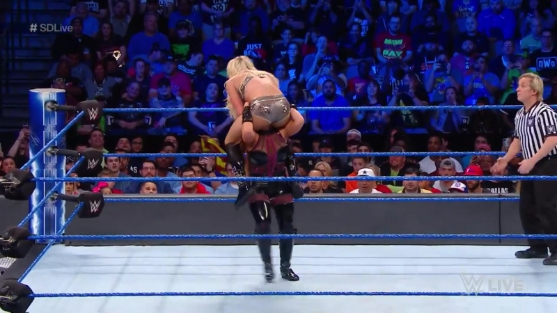 Matches@carmellapages Charlotte Flair vs Natalya SmackDown Live March 20 2018