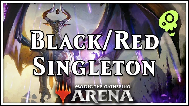 Black/Red Control Singleton —Rakdos Wins [Magic Arena]