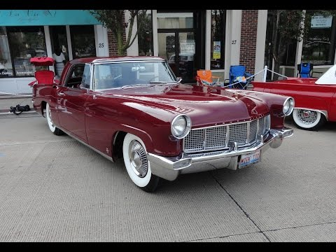 1956 Continental Mark II in Burgundy on My Car Story with Lou Costabile