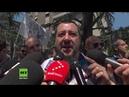 Italiens Innenminister Salvini: Wir werden nicht länger Europas Flüchtlingslager sein