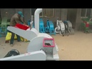 High Efficient wood sawdust crusher machine for for mushroom cultivation