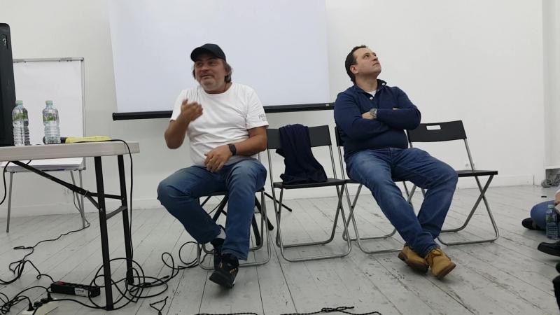Тенденции современной режиссуры. Это видео я записала на Мастер-классе Германа Сидакова.