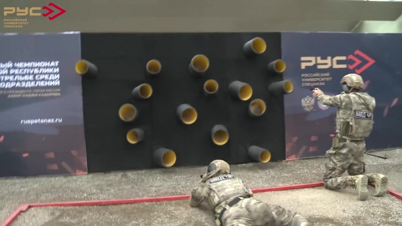 VI Открытый Чемпионат ЧР по тактической стрельбе среди силовых подразделений