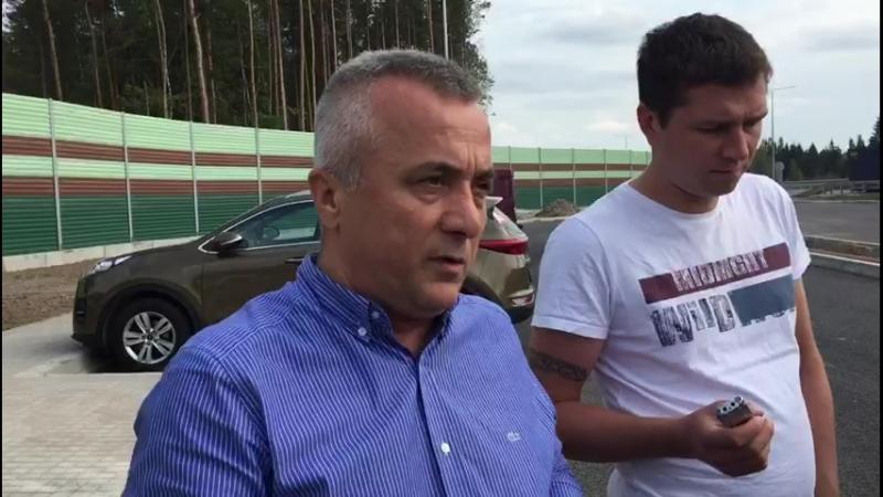 Загид Салехов о транспортном потоке на М-11