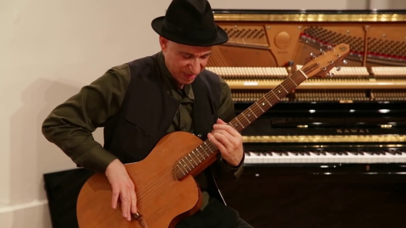 Elliott Sharp - solo guitar - NYC Free Jazz Summit Arts for Art - March 26 2016