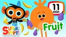 The Super Simple Show - Fruits Vegetables | Kids Songs Cartoons