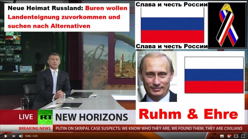 Neue Heimat Russland Buren wollen Landenteignung zuvorkommen und suchen nach Alternativen