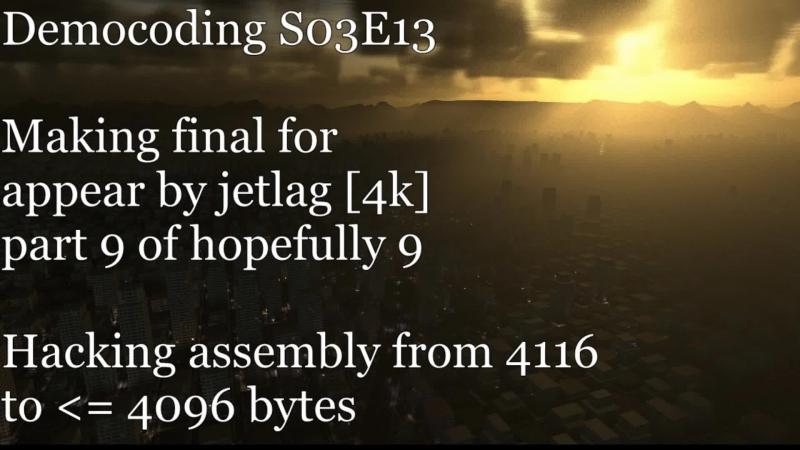 [RU/EN] Democoding S03E13: finalizing appear (4k) 9/N