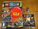 Обзор Нового Журнала Lego Nexo Knights 8 за 2018 год Королевский Страж с Золотым Знаменем
