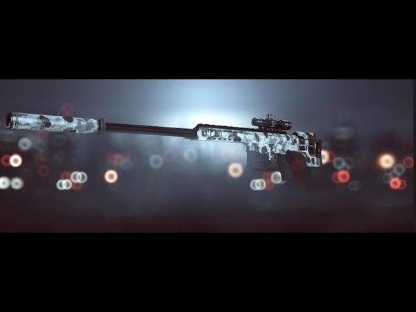 Aggessive sniper with Barett M98 Bravo in the Battlefield 4