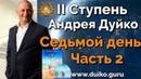 2 ступень 7 день 2 часть Андрея Дуйко Школа Кайлас 2015 Смотреть бесплатно