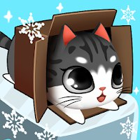 Kitty in the Box [Мод: много рыбок]