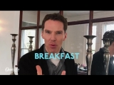 Join Benedict Cumberbatch and some of the Sherlock cast for breakfast. Have the best time of your life eating eggs and... other