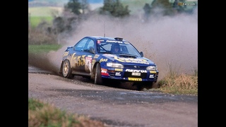 WRC Subaru Impreza WRC 555 Colin Mcrae / Carlos Sainz 1995 compilation with pure sound HD