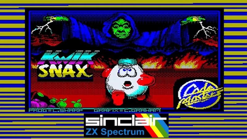 ZX Spectrum Games - Kwik Snax