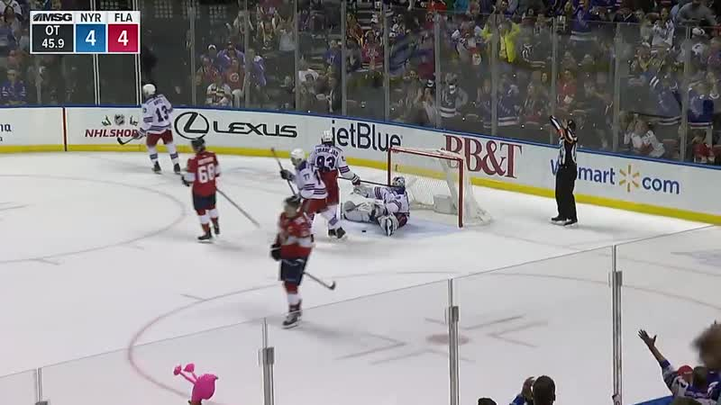 Henrik Lundqvist shuts Matheson down twice in overtime