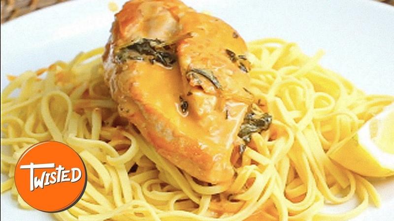 Creamy Lemon Butter Chicken Pasta Recipe   Weeknight Dinners   Creamy Pasta Recipes   Twisted