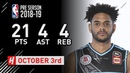 Corey Webster Full Highlights Breakers vs Suns - 2018.10.03 - 21 Pts, 4 Ast, 4 Reb!
