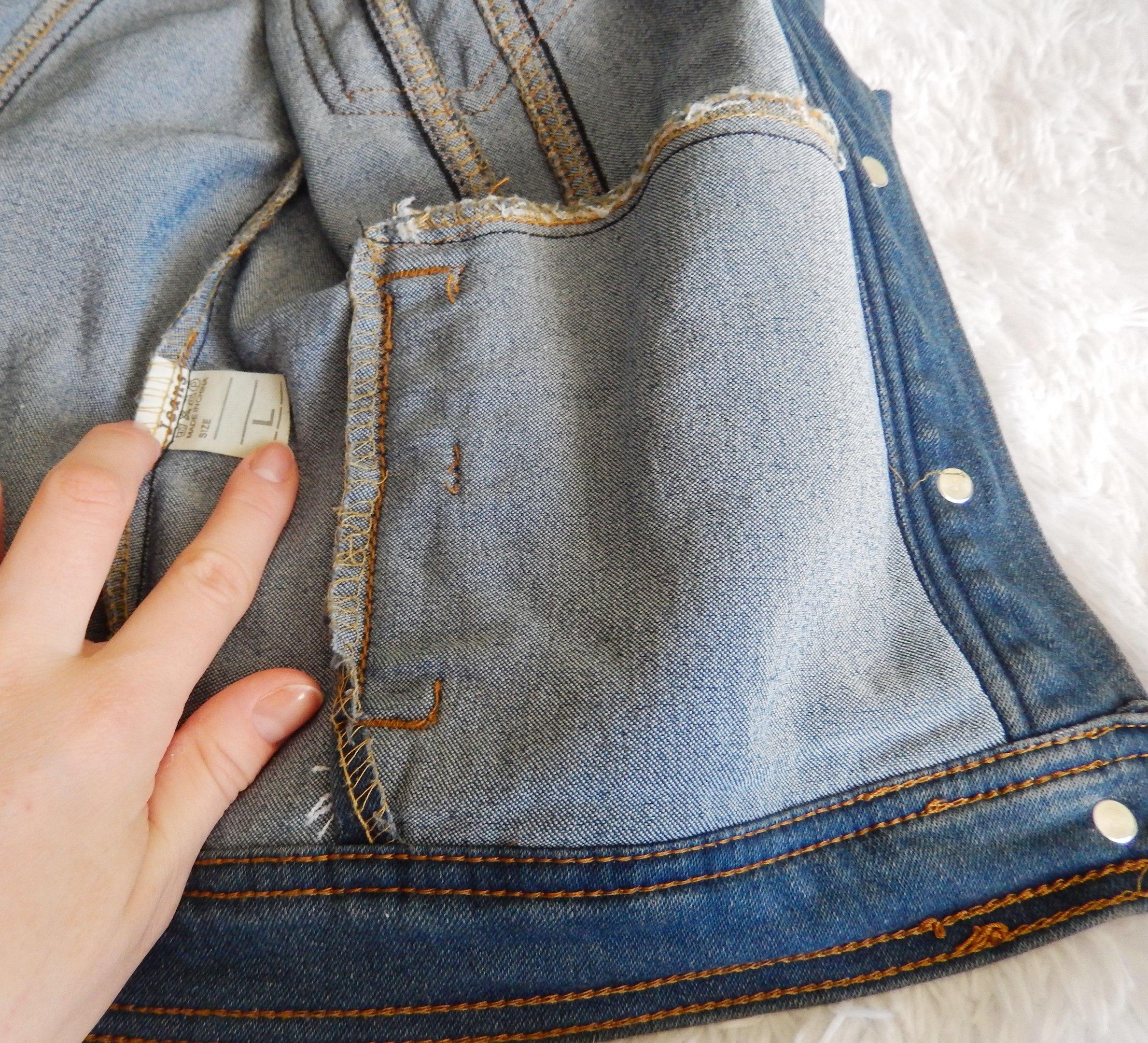 Джинсовая курточка от Rugod