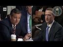 Senador americano questiona dono do Facebook sobre esquerdismo na empresa, e não poupa palavras