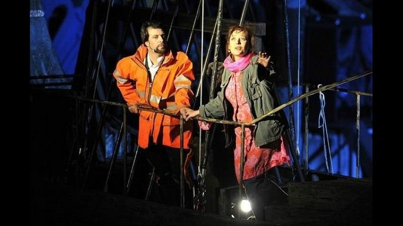 Аида. Брегенц. Финальный дуэт. O terra, addio - Rubens Pelizzari, Tatiana Serjan, Iano Tamar (from Verdis Aida)